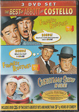 The Best of ABBOTT & COSTELLO 3-DVD Set *New & SEALED* Region 1