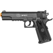 500 FPS COLT M 1911 LICENSED AIRSOFT CO2 GAS HAND GUN PISTOL w/ 6mm BB BBs