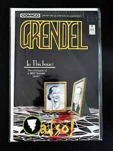 GRENDEL #17 COMICO COMICS 1988 NM+ 1ST SERIES (1986)