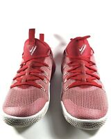 Nike Zoom Hypershift Red / White Basketball Shoes Men's Size 8