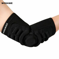 1 Piece Cycling Elbow Pad Arm Brace Support Protector Guards Pad GEL Padded Safe