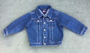 TOMMY HILFIGER Boys Blue Denim Jacket SIZE 3T - AGE 3 YEARS ***FAB***