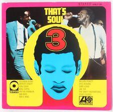 That's Soul 3  Various Vinyl Record
