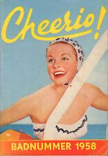 MAGAZINE CHEERIO 1958 nr. 141 -  BADNUMMER/BRIGITTE BARDOT/PAT BOONE/BELLA DARVI