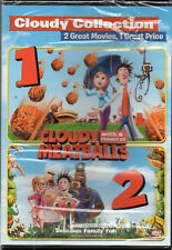 Cloudy with a Chance of Meatballs/Cloudy with a Chance of Meatballs 2 (DVD, 2015