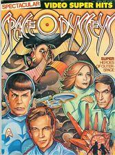 1977 Video Super Hits Magazine: Space Odysseys Heroes Star Trek & Logan's Run