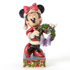 Disney*Minnie Mouse with Wreath*Jim Shore*New*Nib*Buy More & Save*4039034