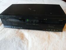 Fortex Stereo Double Deck Dc-3030 Pre Owned Tested And Works