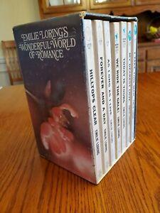Emilie Loring Vintage, Lot of 7, Romance Bantam Books FREE SHIPPING