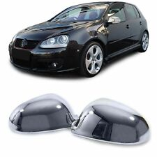 2 Rear-View Mirror Shell Golf 5 Sedan 2003-2008 Golf 6 Sw 2009-2013 plus Chrome