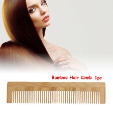 Handmade Bamboo Wood Hair Comb Anti Static Pocket Comb Salon Hairdressing Tool