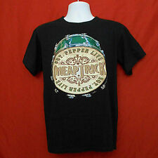 Men's CHEAP TRICK Concert Shirt Sz MEDIUM Sgt Pepper Live Vegas 2010 Black