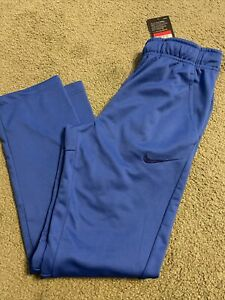 Nike Therma Fit Boys Size Youth Large Royal  Athletic Pants. Therma-Fit NEW!