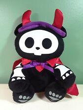 "2009 Skelanimals Approx 7"" Chungkee The Skeleton Panda Plush Halloween Devil"