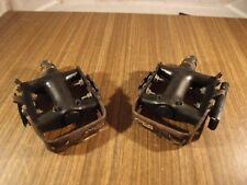 "1990's Shimano Deore LX pedals PD-M550 made in Japan, 9/16"" for MTB"