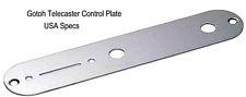 Gotoh Nickel Control Plate for Fender Telecaster/Tele® USA specs