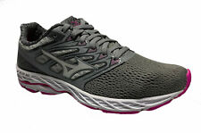 Mizuno Women's Wave Shadow Running Athletic Shoes Gray Pink White