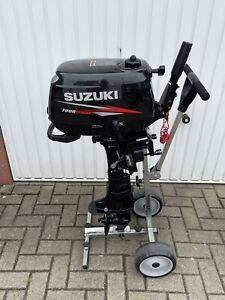 Außenborder Suzuki DF 4S Kurzschaft/4Takter+Transportwagen