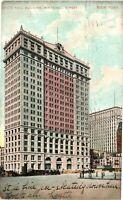 Vintage Postcard - 1908 White Hall Building Whitehall Street New York NY #4389