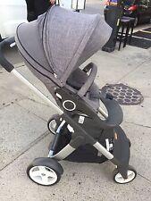 Stokke Crusi Black Melange Single Seat Stroller