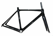 54cm BSA Carbon Frame Fork Road Bike 700c Di2 3k Glossy Cable Race Cycle