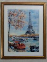 Eiffel Tower Framed Art Print Paris