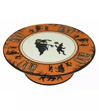 Dollhouse Miniature Handcrafted Halloween Fall cake cider cups forks plates