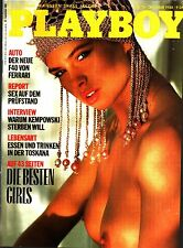 Playboy  10/1988 Oktober Jenna de Rosari,Pia Bierey,Fenja Rühl,Ferrari F40