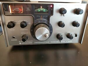 Kenwood R-599D Communications Receiver Ham Radio (R599D) Home Station Unit