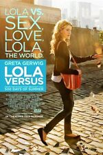 Lola Versus Original Double-Sided One Sheet Rolled Movie Poster 27x40 NEW 2012