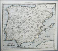 Walker's Atlas map Spain.1815