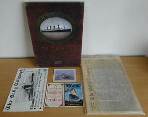 Titanic 100 Year Anniversary Limited Edition Art Print Box Set & Extras Bundle