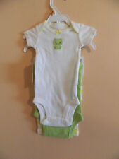 NWT Carters girl 3pc set; 2 bodysuits & pair of pants; multicolored;size 9m