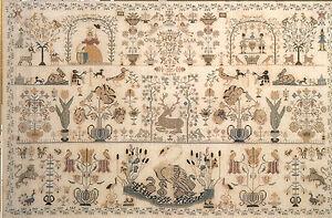 Dutch Beauty Sampler 1790 - Permin of Copenhagen New Chart