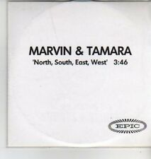 (AD322) Marvin & Tamara,North,South,East,West - DJ CD