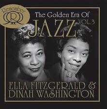 CD Ella Fitzgerald und Dinah Washington Golden Era of Jazz  2CDs