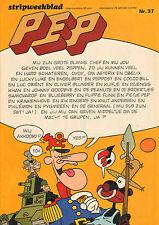 PEP 1973  nr. 37 -  DE GENERAAL (COVER) / COMICS(KRAAIENHOVE/KUIFJE)
