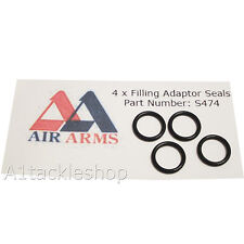 4 x Air Arms New Style Filling Adaptor Seals s400 s410 s510 - Part  S474 ref 93