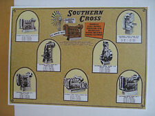 Southern Cross Engines Metal Reproduction Sign WAR213