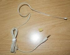 Single ear Headset Microphone for Wireless Mic System PC Stereo 3.5mm 1/8""