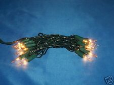 20 STRINGS - 20 CRAFT CLEAR MINI LIGHTS - glass bottles, blocks, wreaths, trees