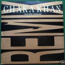 """Chaka Khan I'm Every Woman - Remix Edit 7"""" Single Picture Sleeve"""