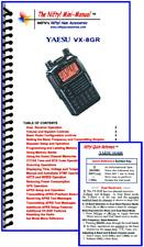 Yaesu VX-8GR Nifty Quick Reference Guide, VX-8G VX8GR