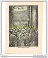 IN THE CAVE OF THE NATIVITY,  THE QUIVER, c1899, Book Illustration (Print)
