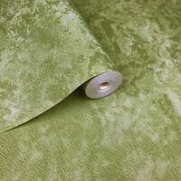 Wallpaper green metallic Textured Plain Modern faux fur look wall coverings roll