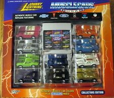 Johnny Lightning 10 pc Die Cast Muscle Car Set,Mopar,GM,Ford,limited edition NEW