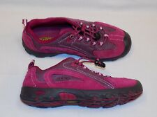 4 Keen Kids Youth Raspberry Pink Parker Hiking Shoes Girls Womens 1009889 Trail