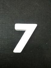 """NUMERO NUMERI CIFRA CIFRE POLISTIROLO DA DECORARE """"7"""""""