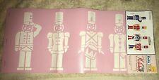 Delta Stencil Magic Toy Soldiers Pre-Cut Decorative Stencil~Nip