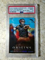 2020 Panini Origins Gold Ink Auto (Blue Ink) Adley Rutschman /10 PSA 9 RC